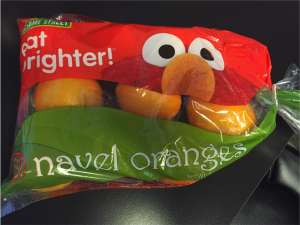 Eat Brighter!™ElmoNavelOranges